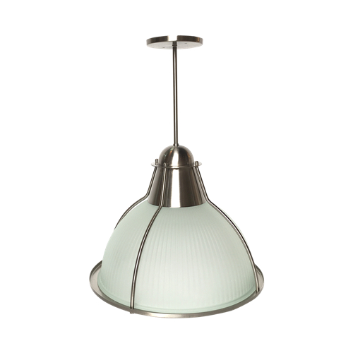Frosted glass hyatt kitchen island pendant