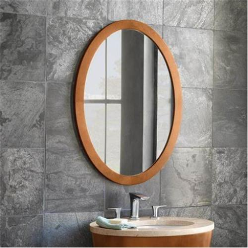light wood bathroom mirror