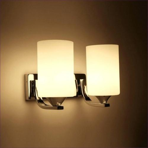 Double light wall sconce